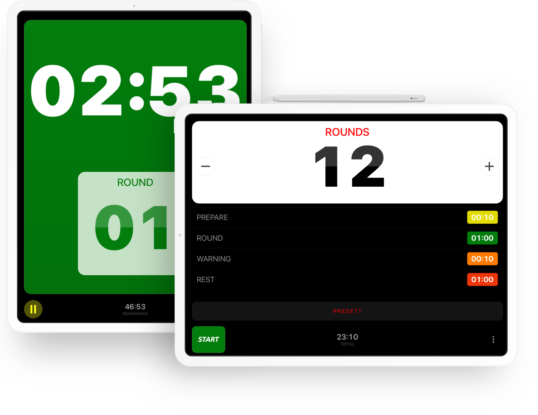 Boxing Timer Pro for iPad from SimpleTouch.