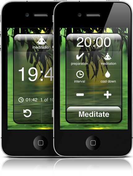 Meditate - Meditation timer app for iPhone iPad and iOS