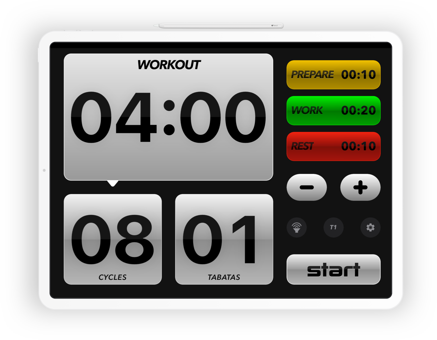 Tabata Pro for iPad by SimpleTouch