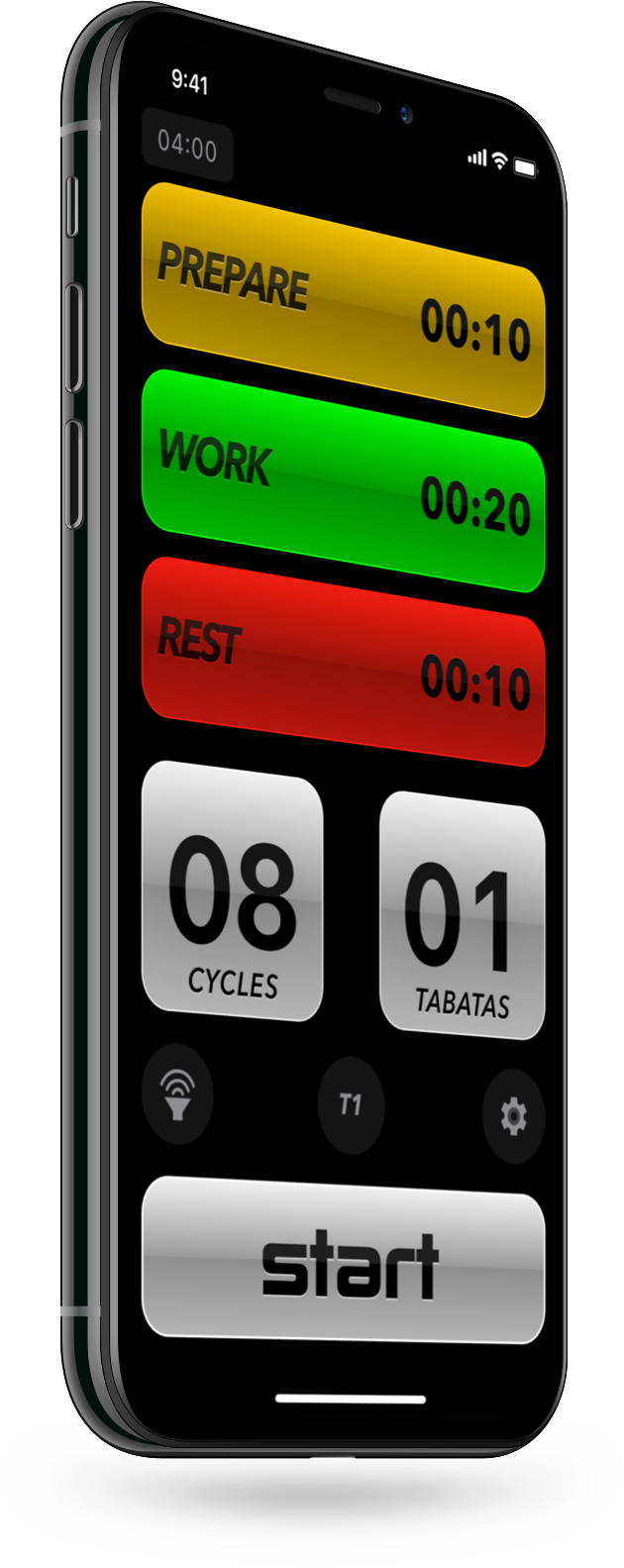 Tabata Pro - Tabata Timer app for iPhone iPad and iOS